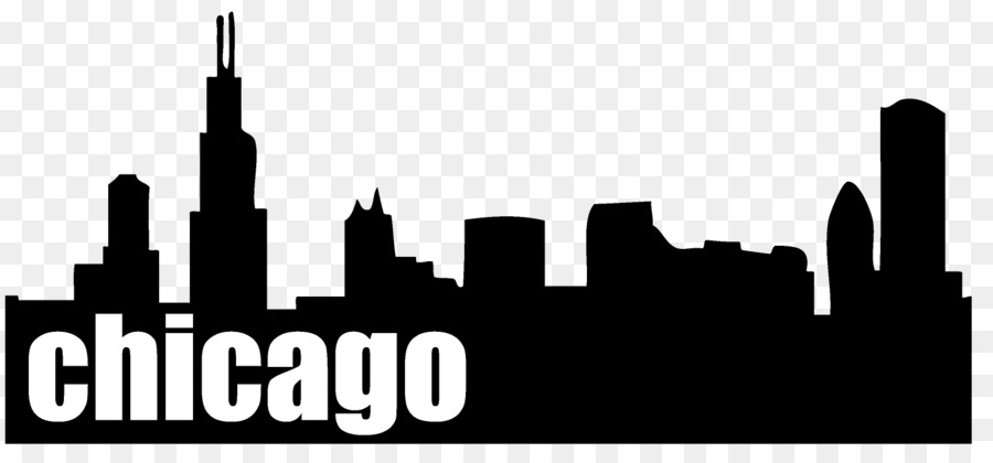900x420 Chicago Drawing Skyline For Free Download