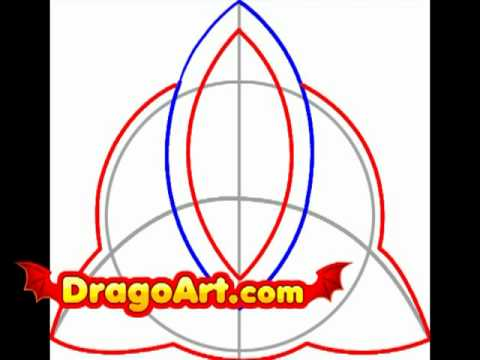 480x360 How To Draw A Triquetra, Step