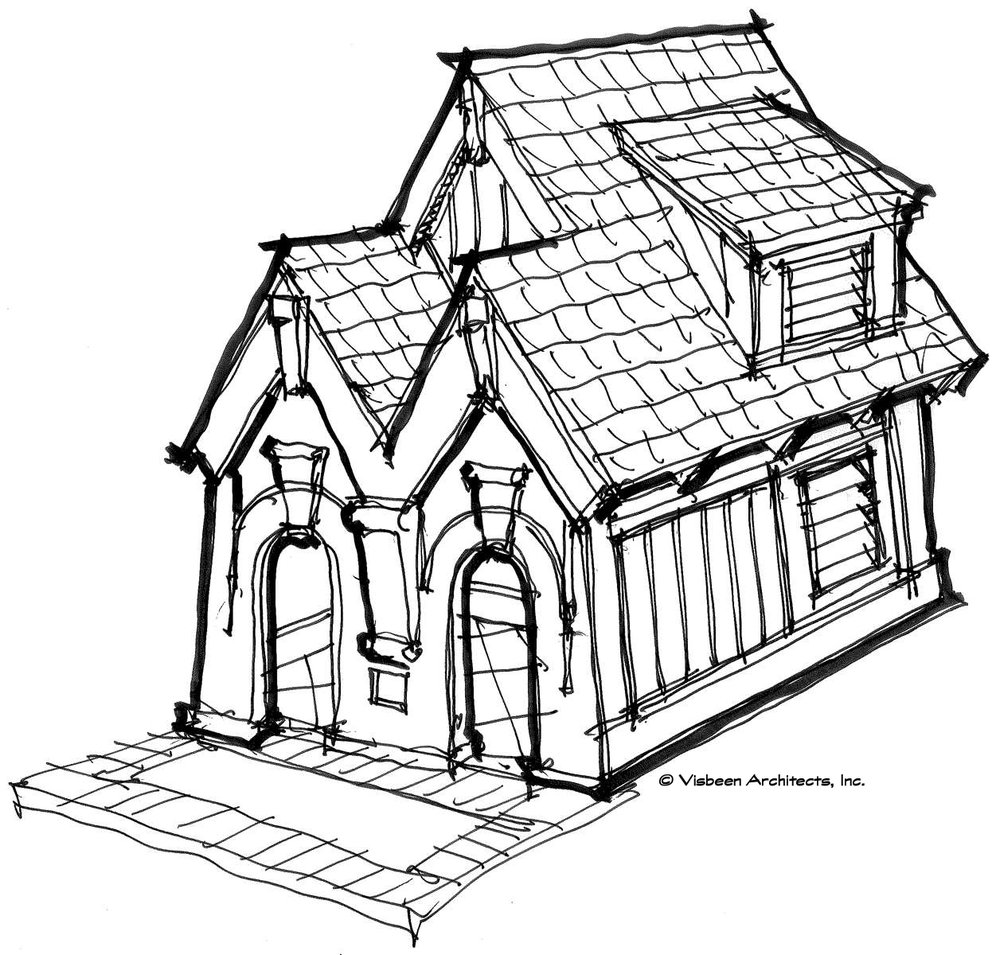 1000x955 Playhouses Visbeen Architects, Inc