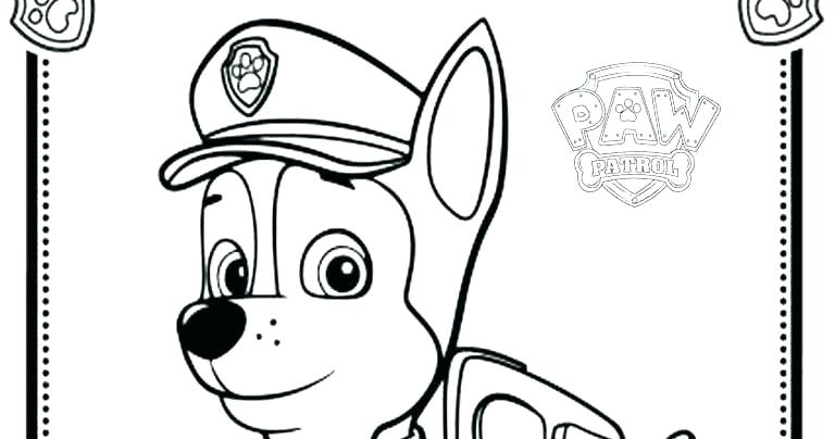 768x404 marshall paw patrol coloring pages paw patrol coloring