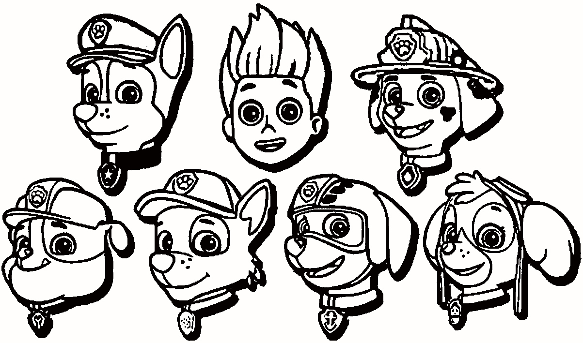 1203x709 free paw patrol coloring pages new photos paw patrol free coloring