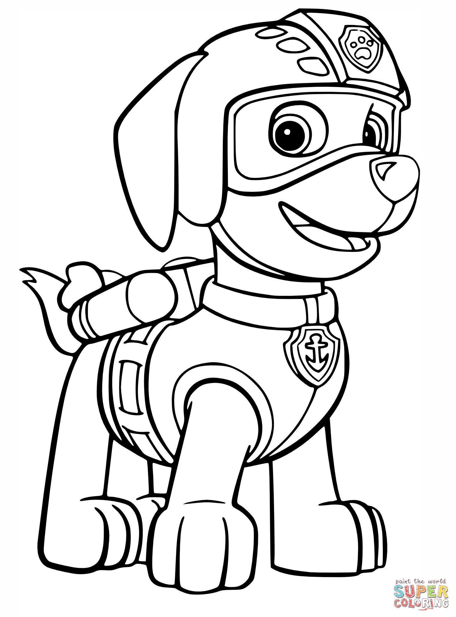 1521x2056 chase paw patrol coloring sheet new free paw patrol coloring pages