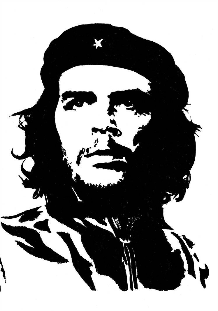Che guevara drawing free download best che guevara drawing on