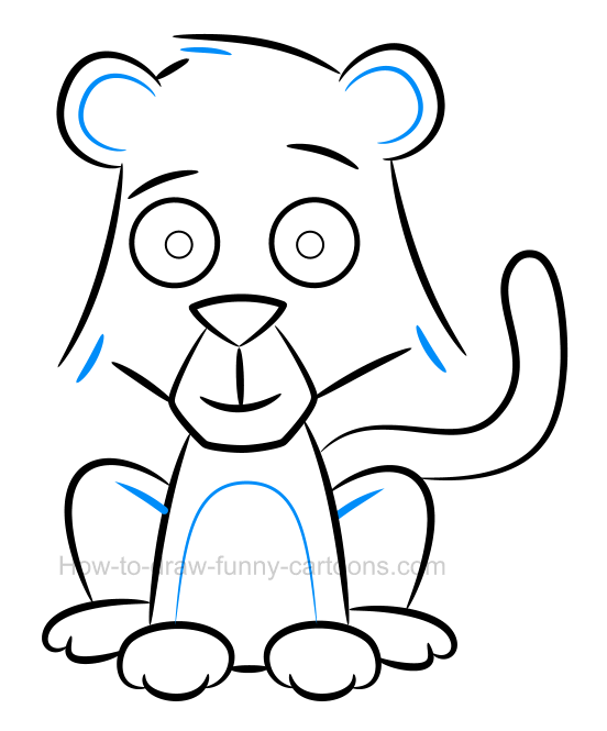 552x665 How To Draw A Cute Baby Cheetah