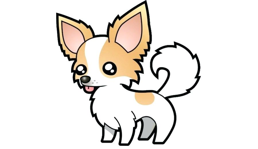 900x520 Puppy Cartoon Drawing Cartoon Puppy Drawing Tutorial Zupa
