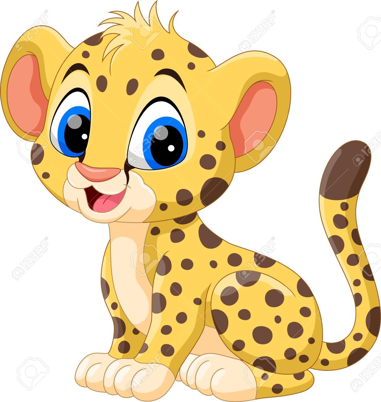 1233x1300 Cheetah Cartoon