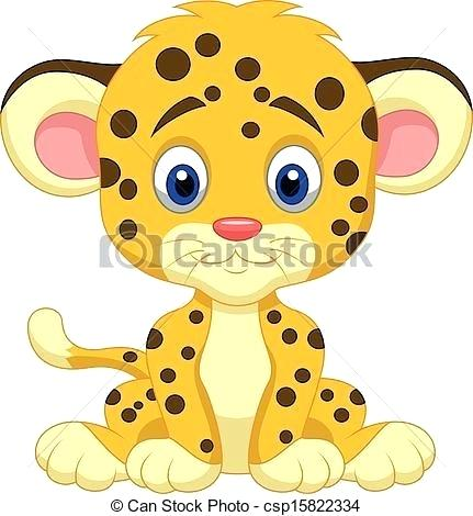 431x470 How To Draw A Baby Leopard Step
