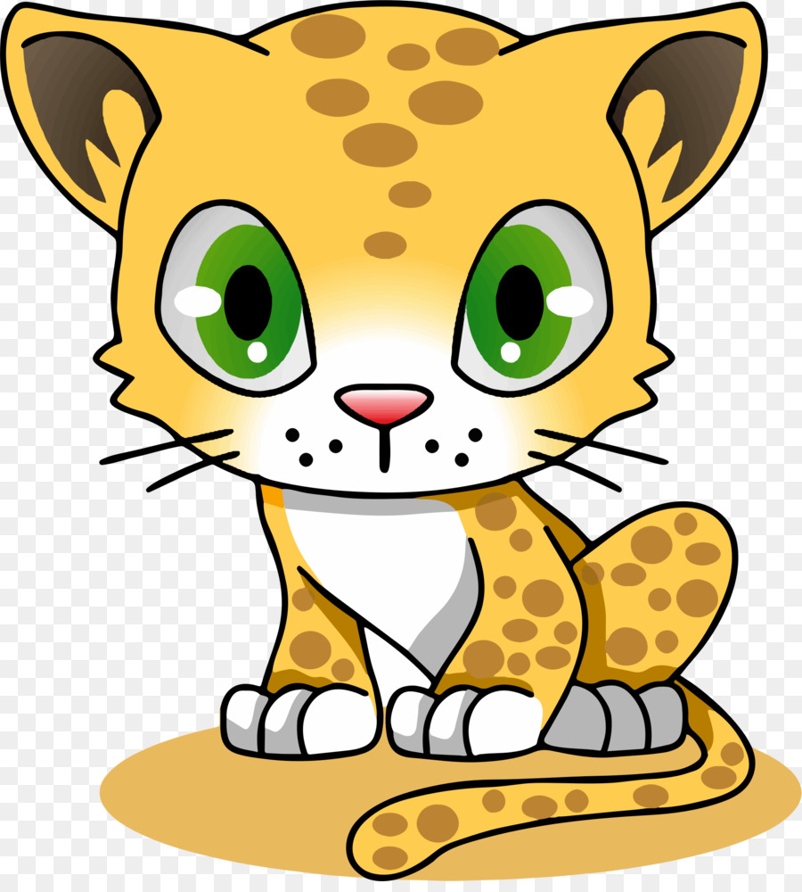 900x1000 Cartoon, Drawing, Cat, Transparent Png Image Clipart Free Download