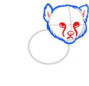 302x294 how to draw a baby cheetah, baby cheetah, step
