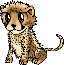 218x222 Drawing Cheetah Chibi, Picture