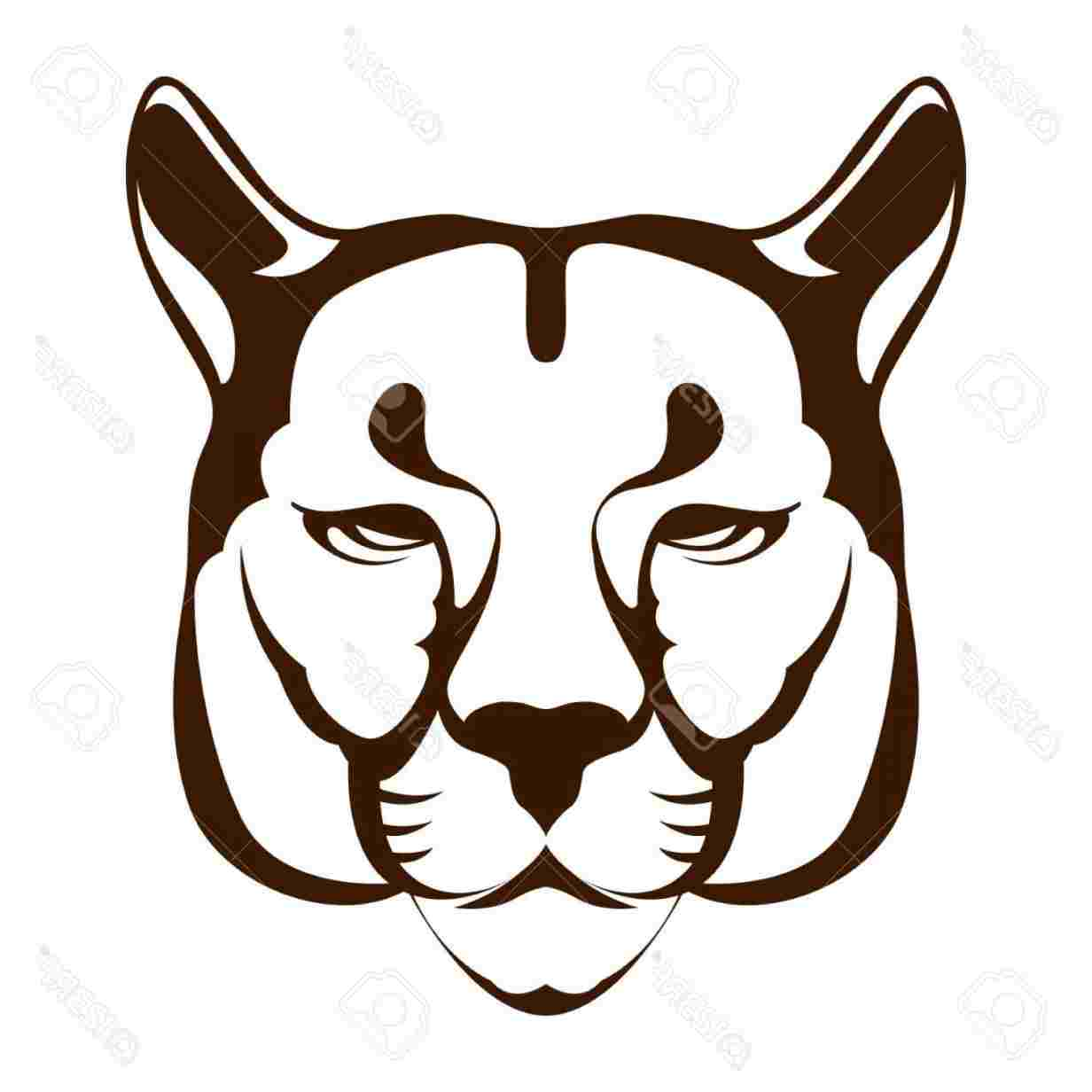 1232x1232 Simple Tiger Face Drawing