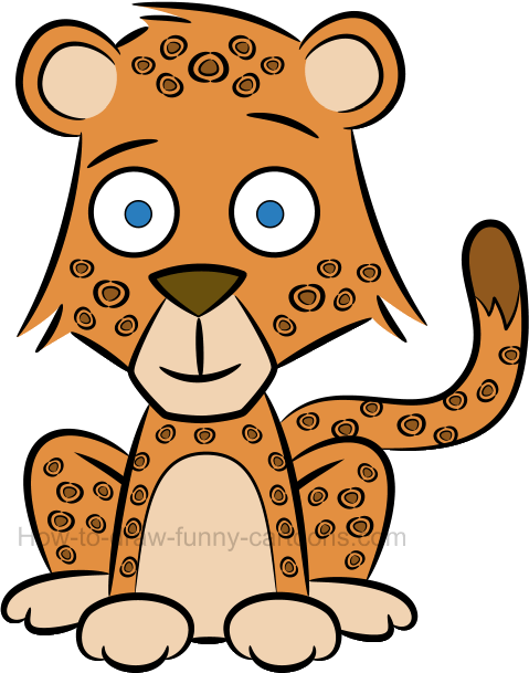 479x609 Cheetahs Drawing Cartoon Transparent Png Clipart Free Download