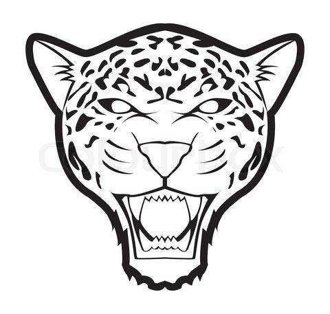480x457 Jaguar Inspiration Animalcity Jaguar, Drawing Stencils, Drawings