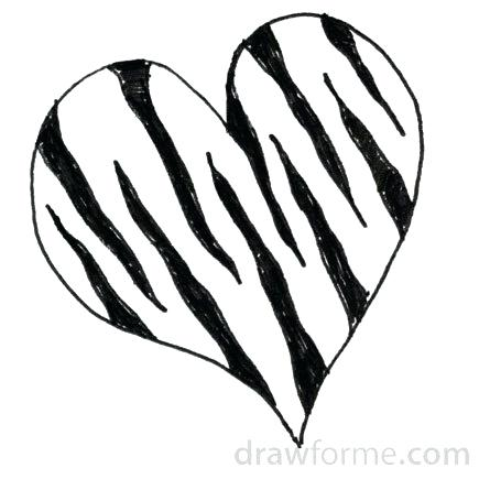 435x435 How To Draw Zebra Print Zupa