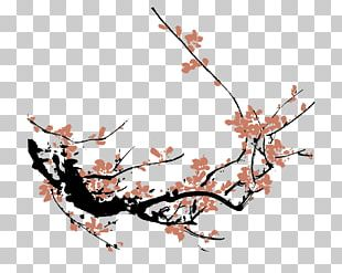 310x247 plum blossom chinese painting cherry blossom drawing png, clipart