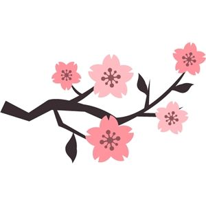 300x300 Cherry Blossom Clipart Flower Drawing