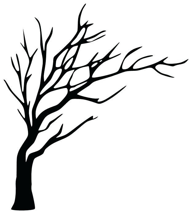 624x698 drawn tree contour free on drawn tree contour coconut tree outline
