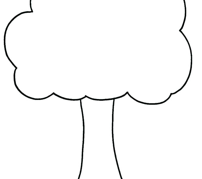 678x600 Fall Tree Crafts And Worksheets For Preschool Fall Tree Coloring