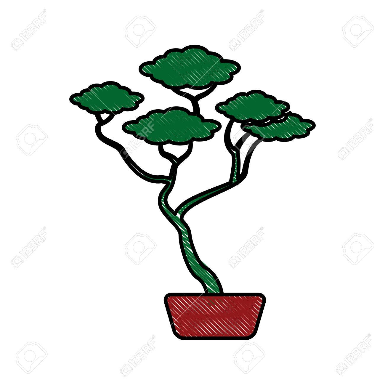 1300x1300 Drawing A Bonsai Tree Tumblr Simple Images Japanese Sketches