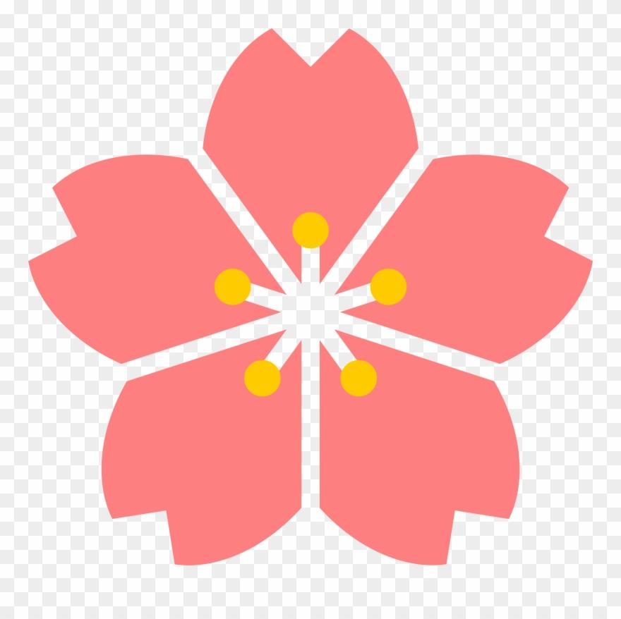 880x878 Cherry Blossom Clipart Transparent