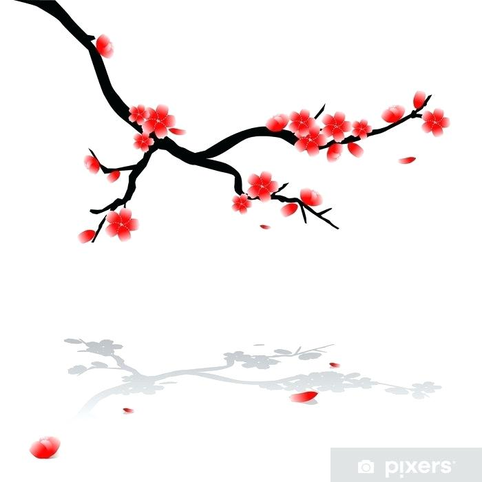 700x700 japanese drawings of cherry blossoms lake draw japanese cherry