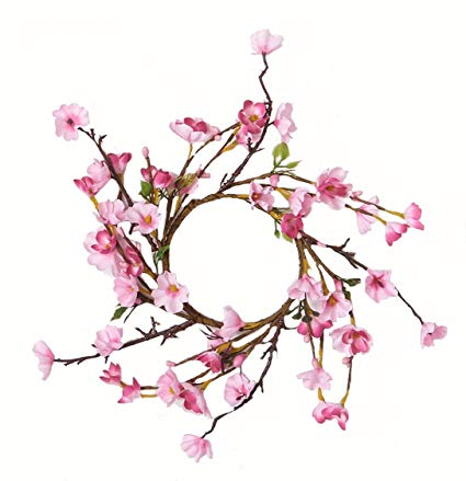 425x439 Worth Imports Cherry Blossom Candle Ring Home Kitchen