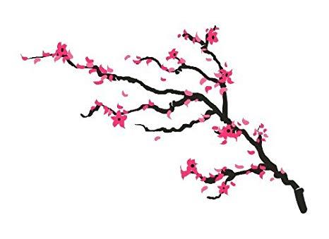 466x339 Cherry Blossom Temporary Tattoo