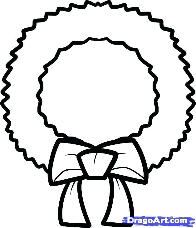 628x731 wreath drawing how to draw a simple floral wreath wreath drawing