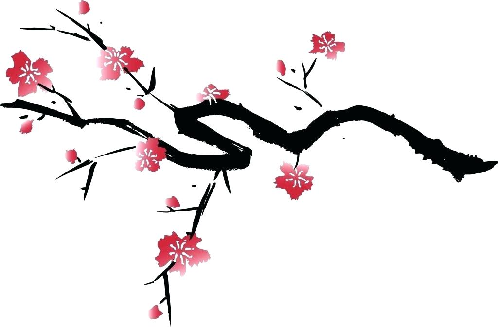 1024x673 Cherry Tree Drawing Cherry Blossom Tree Drawing Best Images