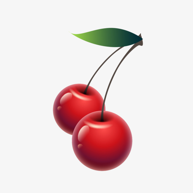 650x651 Drawing Cherries, Hand Painted, Cherries, Creative Fruit Png Image
