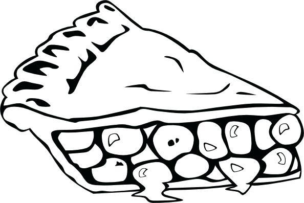 594x397 Cherry Pie Drawing Cherry Pie B And W Clip Art Cherry Pie Vector