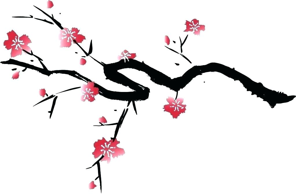 1024x673 how to draw a sakura tree draw sakura tree
