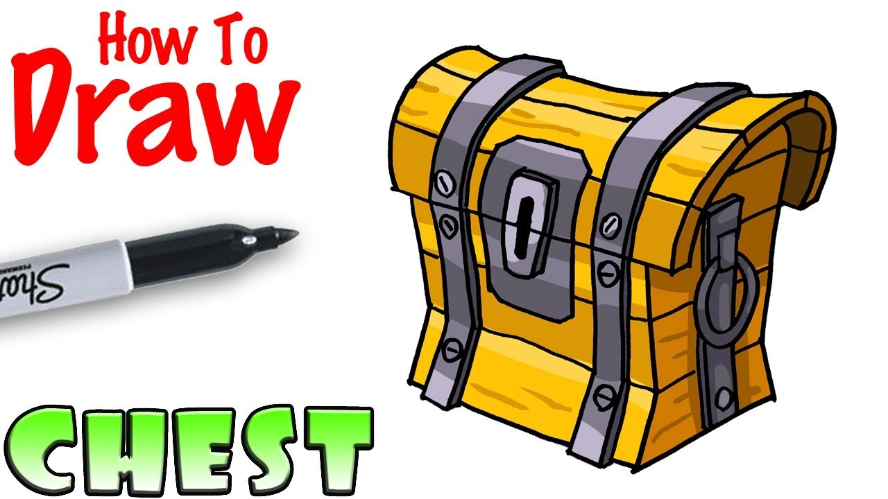 1280x720 How To Draw The Chest Fortnite