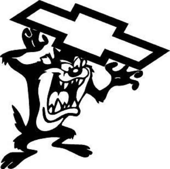 Chevy Emblem Drawing