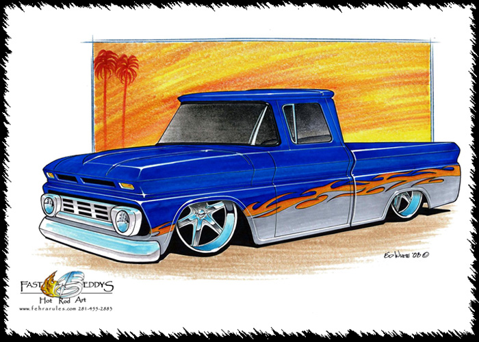 Chevy Silverado Drawing
