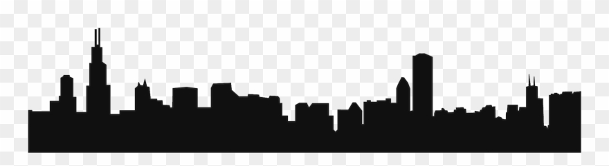 880x241 Chicago City Png Library Stock