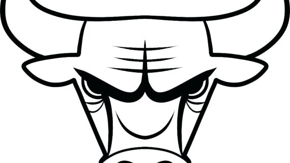 570x320 Chicago Bulls Coloring Pages Bulls Coloring Sheets Chicago Bulls