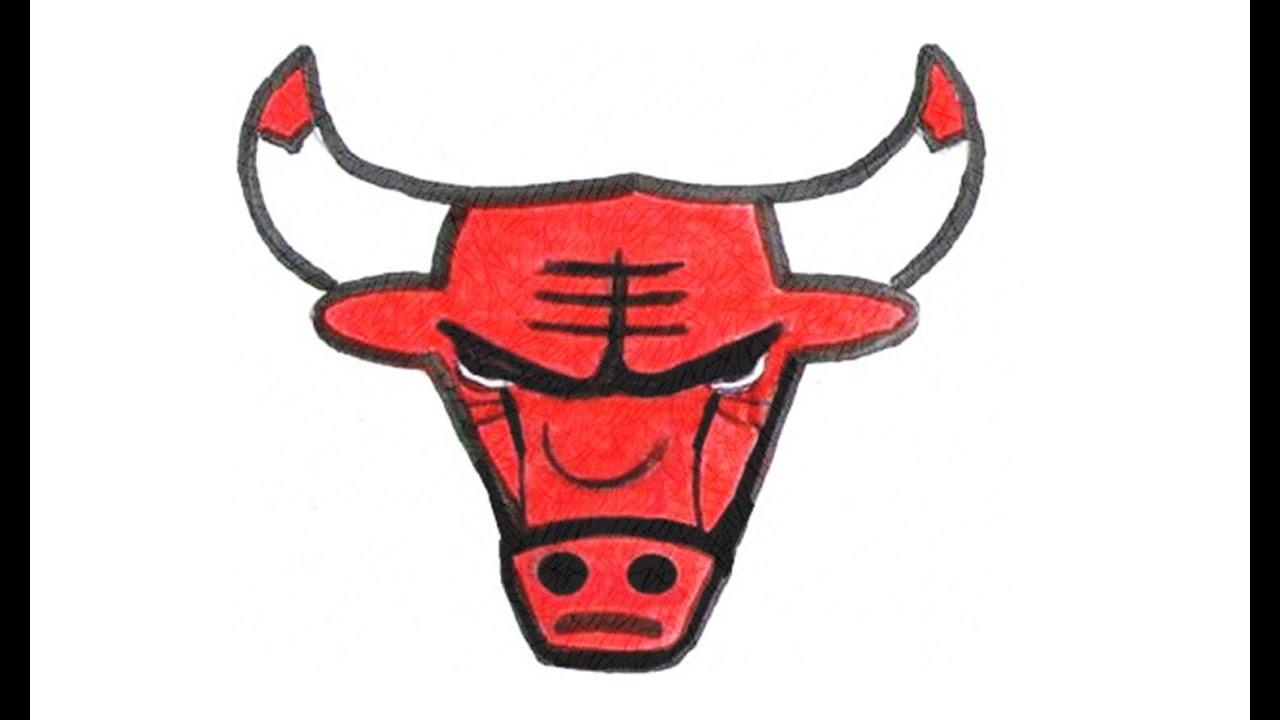 1280x720 Como Desenhar O Escudo Do Chicago Bulls