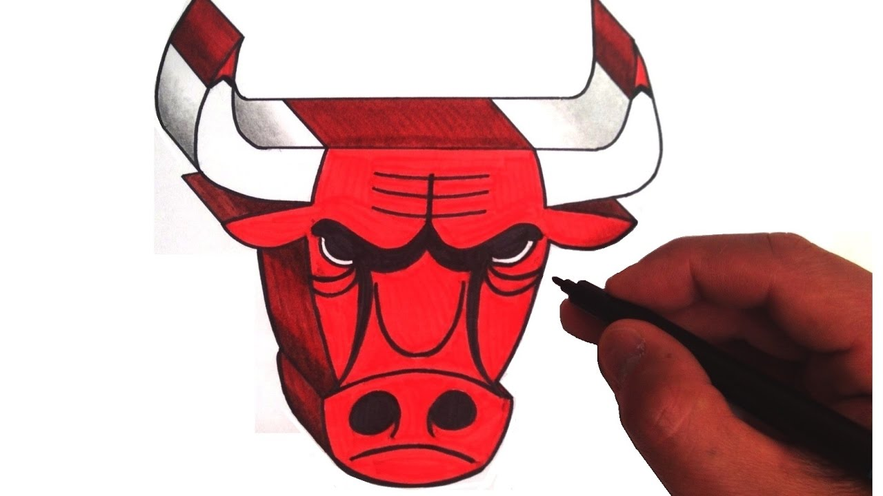 1280x720 How To Draw The Chicago Bulls Logo