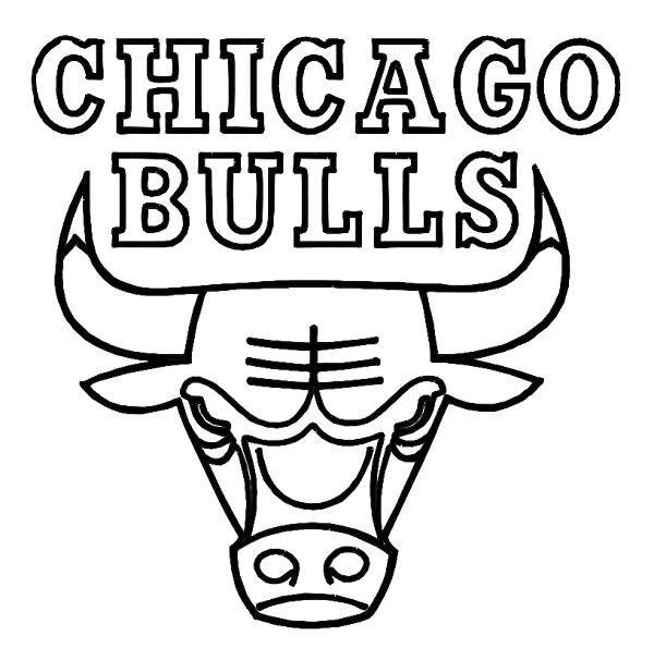 600x595 Nba Coloring Pages Chicago Bulls