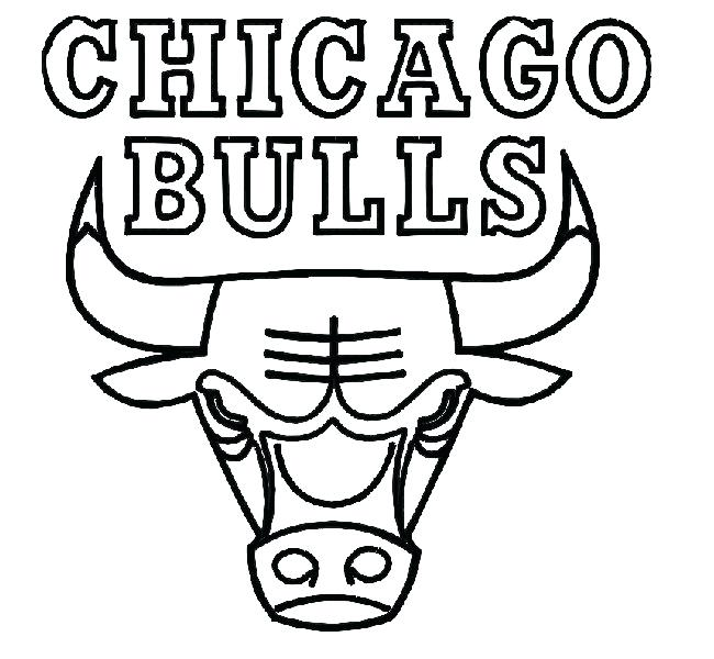 650x600 Chicago Bulls Coloring Pages Bulls Bulls Coloring Pages Free Bulls
