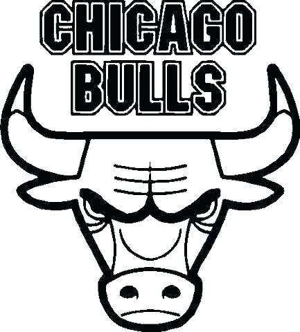 433x480 Chicago Bulls Coloring Pages Bulls Coloring Pages Bull Coloring