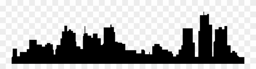 880x239 Huge Collection Of 'chicago Skyline Silhouette Clip Art' Download