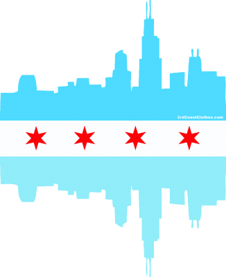 326x400 Pier Drawing Skyline Chicago Transparent Png Clipart Free