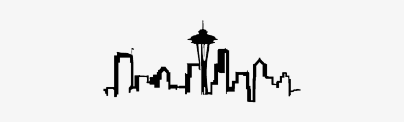 820x248 Skyline Drawing Seattle
