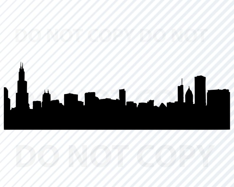 794x635 chicago skyline for cricut city skyline clipart city etsy