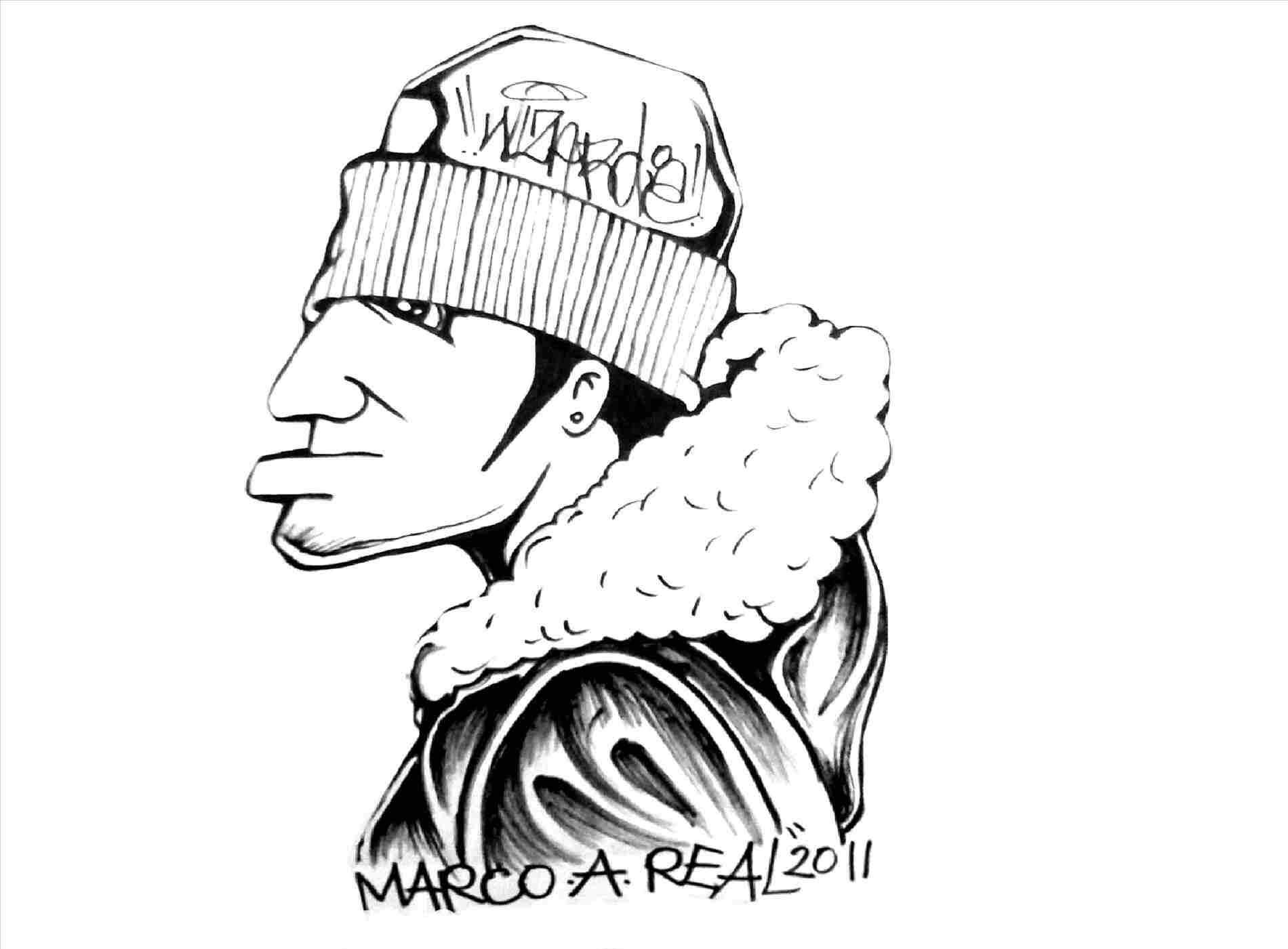 1900x1401 Awesome Cartoons To Draw Cartoon Thug Drawings Drawing A Gangsta