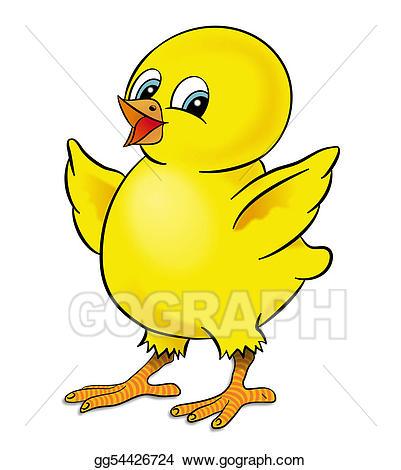 401x470 Chicken Drawing