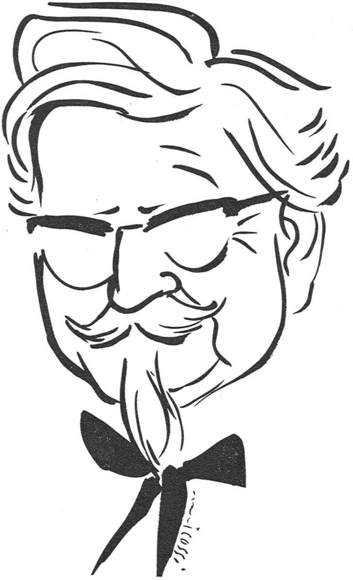 727x1194 how col sanders built a fried chicken empire the new yorker