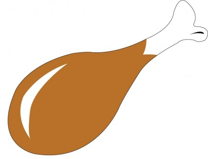 425x325 Chicken Wing Clipart